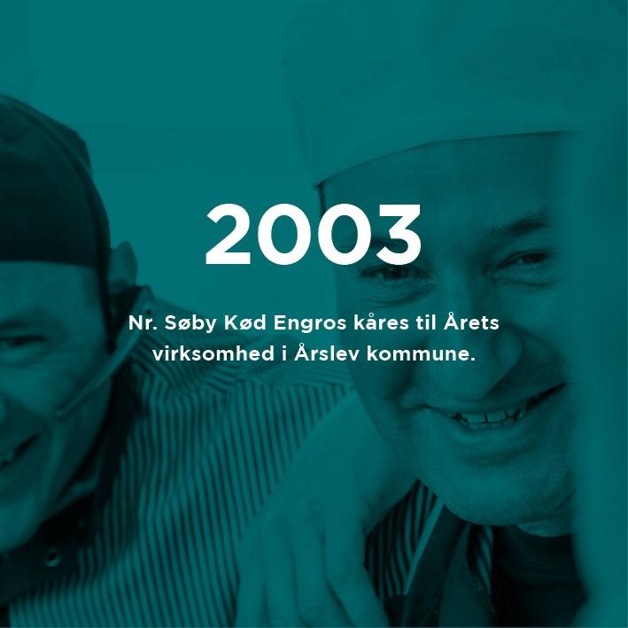 2003 med tekst